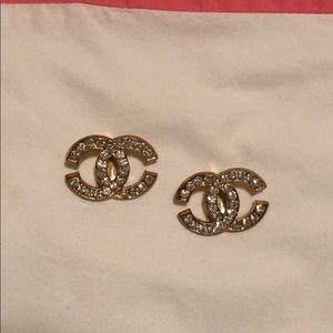 CC Clip Earrings